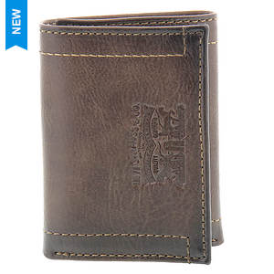 Levi's Embossed Stitch Trifold Wallet