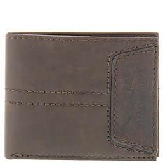 Levi's Passcase Embossed Logo Wallet