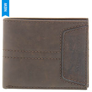 Levi's Passcase Embossed Logo Wallet