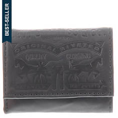 Levi's Embossed Trifold Wallet