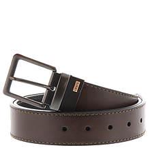 Levi's Men's 2-Tone Logo Belt