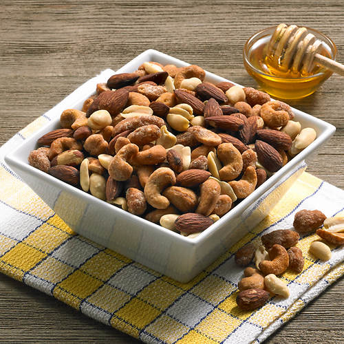 Hickory Smoked & Honey Roasted Nut Mix