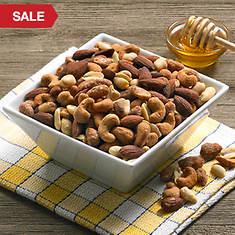 Hickory Smoked & Honey Roasted Nut Mix