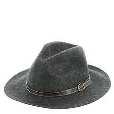 Steve Madden Women's Wide Brim Fedora Hat