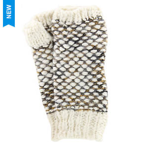 Steve Madden Women's Nubby Knit Fingerless Glove