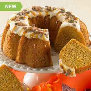 Cream Cheese Pumpkin Cake
