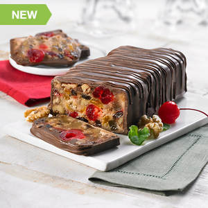 Chocolate Covered Grandma's Fruitcake