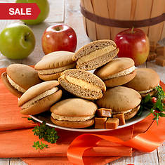 Salted Caramel Apple Whoopie Pies