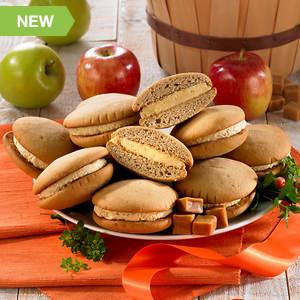 Salted Caramel Apple Whoopie Pies