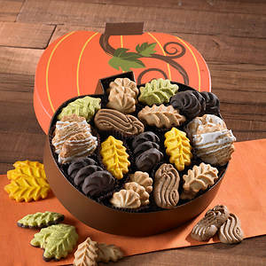 Pumpkin Box Cookie Assortment