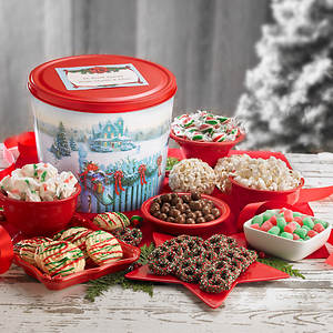 Personalized Christmas Wishes Gift Tin