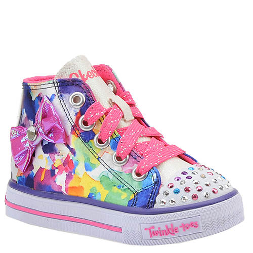Skechers Twinkle Toes Shuffles-Artsy Ups (Girls' Infant-Toddler)