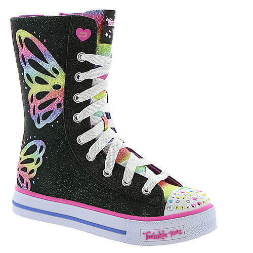 Skechers Twinkle Toes Shuffles-Flutter Fun (Girls' Toddler-Youth)