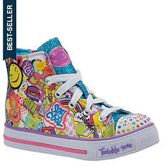 Skechers Twinkle Toes Shuffles 10746L (Girls' Toddler-Youth)