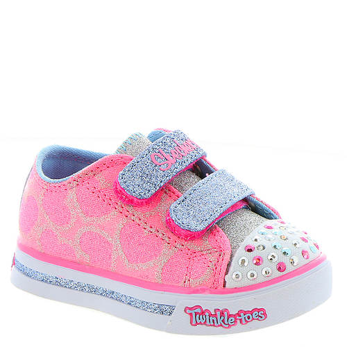 Skechers Twinkle Toes Sparkle Glitz-Heartsy Glam 10709N (Girls' Infant-Toddler)