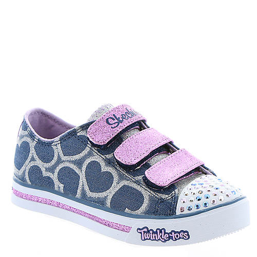Skechers Twinkle Toes Sparkle Glitz-Heartsy Glam (Girls' Toddler-Youth)
