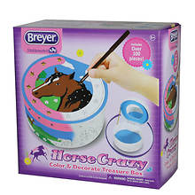 Breyer Horse Crazy Color and Decorate Treasure Box