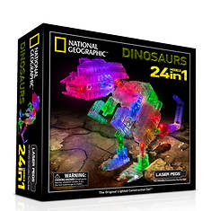 Laser Pegs 24-in-1 Dinosaurs
