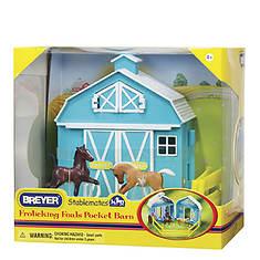 Breyer Frolicking Foals Pocket Barn