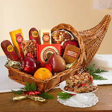 Thanksgiving Cornucopia Basket