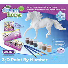 Breyer My Dream Horse-3D Paint-by-Number Activity Kit
