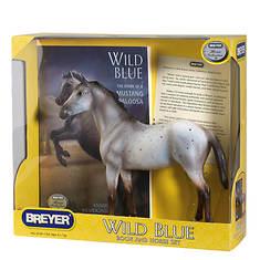 Breyer Wild Blue Book and Horse Set