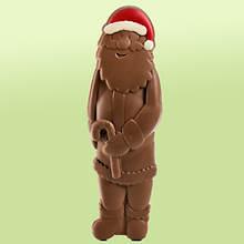 Big Jolly Chocolate Santa