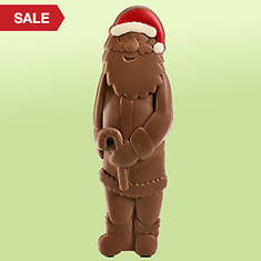 Huge Chocolate Santa