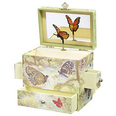 Enchantmints Monarchs Musical Jewelry Box