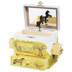 Enchantmints Horse Ranch Jewelry Box