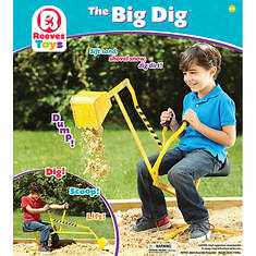 Tonka Big Dig Ride-On Working Crane