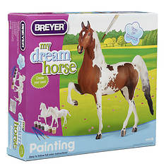 Breyer My Dream Horse-Paint Your Own Horse Activity Kit-Quarter Horse and Saddlebred