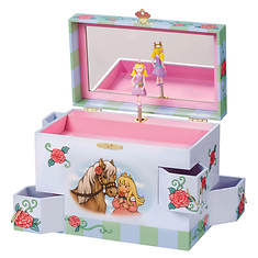 Enchantmints Rose Petal Princess Jewelry Box
