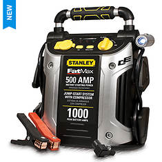 Stanley® 500-Amp Jumpstarter With Air Compressor - Opened Item