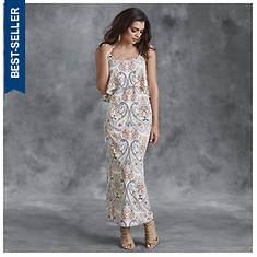 Popover Paisley Dress
