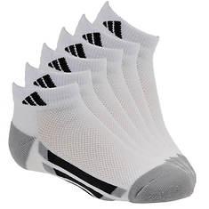 adidas Vertical Stripe 6-Pack Low Socks (Boys')