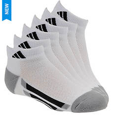 adidas Vertical Stripe 6-Pack Low Socks (Boys')