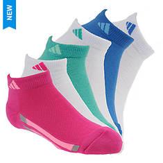 adidas Vertical Stripe 6-Pack Low Socks (Girls')