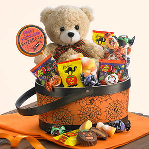 Personalized Boo! Bear Basket