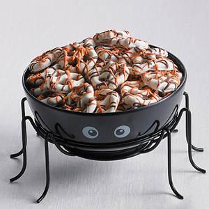 Spider Bowl & Drizzled Pretzels
