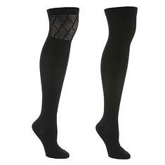 Steve Madden Women's SM33569D 2PK Over the Knee Socks