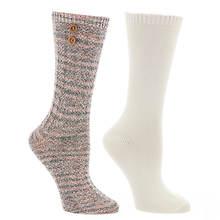 Steve Madden Women's SM34079 2PK Boot Socks