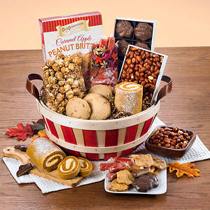 Bushel Basket of Harvest Treats