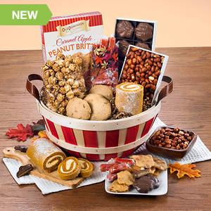Bushel Basket of Harvest Treats