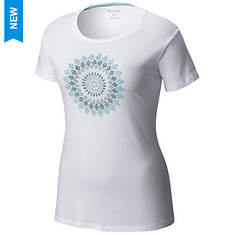 Columbia Women's Prism Medallion SS Tee