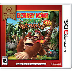 Nintendo 3DS NS Donkey Kong Country Returns