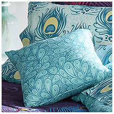 Peacock Feathers Bed Set 16