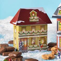 Collectible Christmas Village Tins & Treats - Victorian