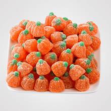 Halloween Snackin' Favorites! - Orange Jelly Pumpkins