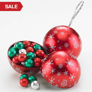 Chocolate Ornament Tin Set